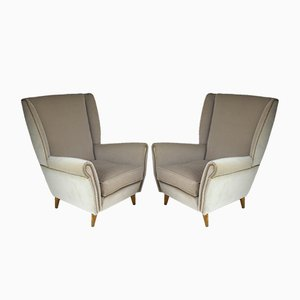 Armchairs by Gio Ponti, 1940s, Set of 2