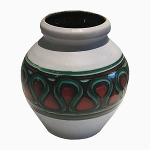 Jarrón alemán de cerámica, años 60