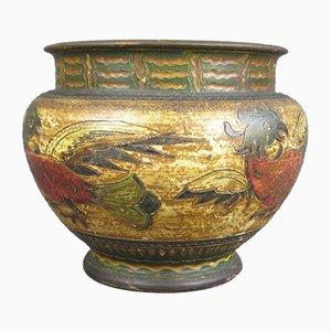 Italienische Vintage Vase aus Terrakotta