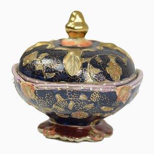 Baratijas japonesas de porcelana del período Meiji, años 20. Juego de 2