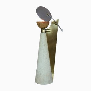 Skulpturale Lampe von Pucci De Rossi, 1980er