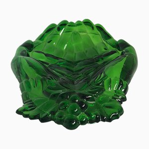 Molded Glass Dishes, 1960s, Set of 4