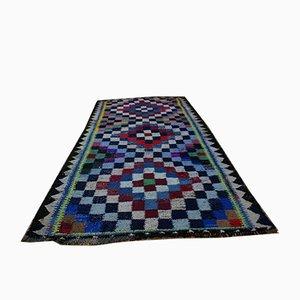 Tappeto Nomaden Kilim intrecciato a mano, anni '50