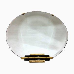 Miroir Rond Art Déco, France, 1930s