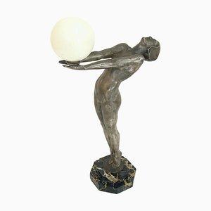 Französische Art Deco Skulptur von Max Le Verrier für Le Verrier Paris, 1930er