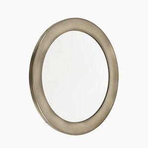 Espejo de níquel plateado y latón de Sergio Mazza para Artemide, años 60