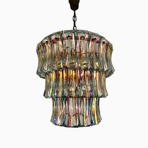 Lámpara de araña Art Déco de Venini, años 20