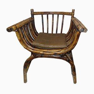Mid-Century Bamboo Armchair