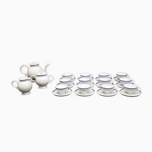 Model Barbara Tea Set by Gio Ponti for Richard Ginori, 1930s