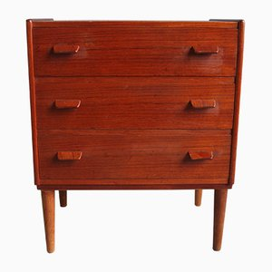Danish Teak Dresser by Poul Volthers, 1960s