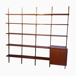 Rosewood Modular Shelf by Osvaldo Borsani for Tecno, 1960s
