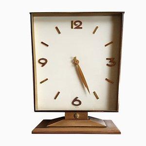 Horloge de Cheminée de Swiza, Suisse, 1950s