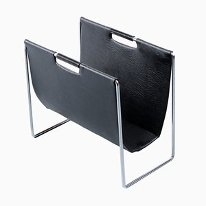Black Magazine Rack from Brabantia, 1960s