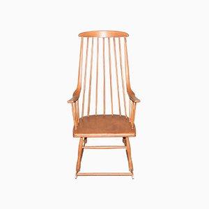 Rocking Chair Grandessa Scandinave par Lena Larsson, 1950s