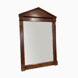 Antiker Spiegel aus Walnuss & Marketerie