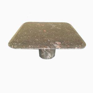 Mid-Century Marble Coffee Table