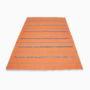 Handwoven Ghashgai Kilim Carpet, 1950s