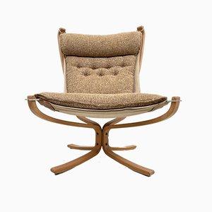 Falcon Chair mit hoher Rückenlehne von Sigurd Ressell für Vatne Møbler, 1960er