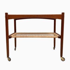 Carrito o mesa auxiliar danesa de Glyngore Stolefabrik, años 60
