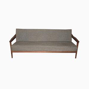Mid-Century Scandinavian Teak Sofa