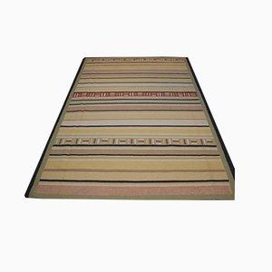 Vintage Wool Kilim Carpet