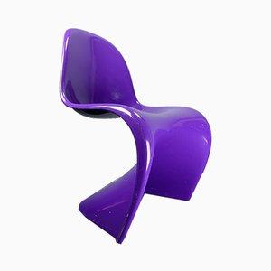 Chaise de Salle à Manger Violette par Verner Panton pour Vitra, 1960s