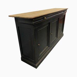 Mueble Louis Philippe antiguo de roble