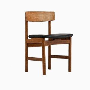 236 Esszimmerstühle von Børge Mogensen für Fredericia, 1950er, 4er Set