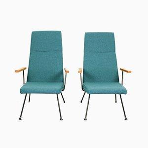 Mid-Century Modell 1410 Sessel von Dick Cordemeijer für Gispen, 2er Set