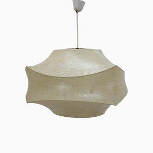 Large Mid-Century Italian Cocoon Pendant Lamp by Achille Castiglioni, 1960s