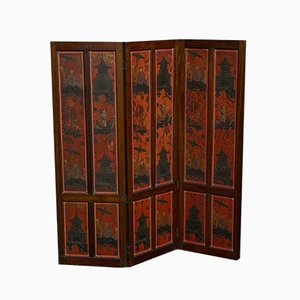 Antique Edwardian Draft Screen