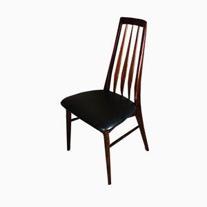 Palisander Esszimmerstühle von Niels Koefoed, 1950er, 4er Set