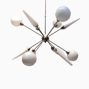 Großer Vintage Sputnik Kronleuchter
