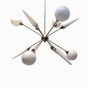 Lámpara de araña Sputnik vintage grande
