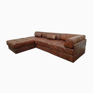 Modulares Leder DS88 Sofa von de Sede, 1970er