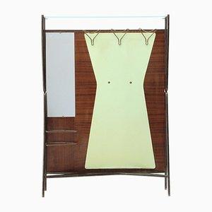 Porte-Manteau Moderne avec Miroir et Porte-parapluie, Italie, années 50