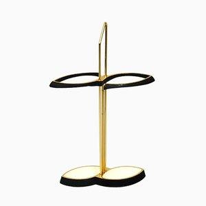 Mid-Century Modern Brass Umbrella Stand, 1950s