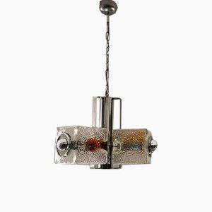 Lámparas de araña de Toni Zuccheri, años 70. Juego de 2