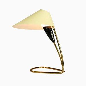 Lampe de Bureau Vintage en Laiton, années 50