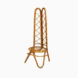 Silla de bambú, años 60