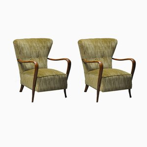 Lounge Chairs by Ladislao Kovacs, 1950s, Set of 2