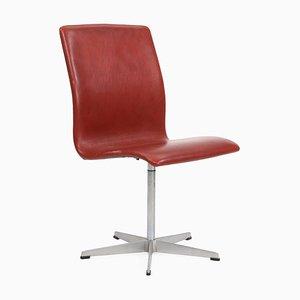 Chaise d'Appoint Oxford par Arne Jacobsen pour Fritz Hansen, années 50