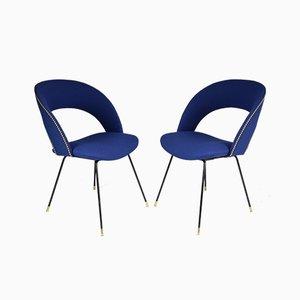 Italienische Mid-Century Sessel von Gastone Rinaldi für Rima, 1950er, 2er Set