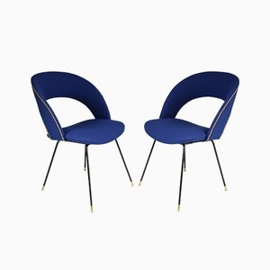 Mid-Century Italian Armchairs from Gastone Rinaldi for Rima, 1950s, Set of 2