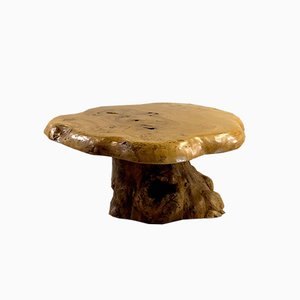 French Brutalist Coffee Table by A Attribuer, 1980s