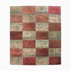 Vintage Patchwork Carpet, 1960s