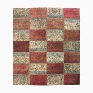 Vintage Patchwork Teppich, 1960er