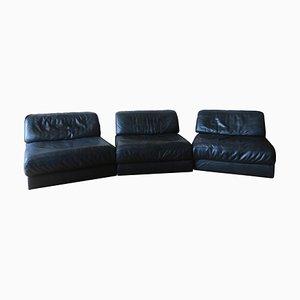 Modulares Modell D76 Sofa von de Sede, 1970er, 3er Set
