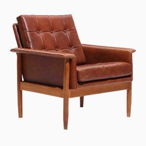Stuhl aus Eiche, 1950er