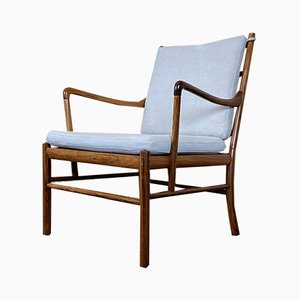 Mid-Century Rosewood PJ-146 Lounge Chair by Ole Wanscher for Poul Jeppesens Møbelfabrik